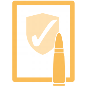 Pictogramm Waffengutachten